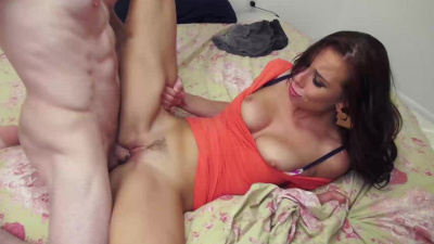 Aidra Fox & Marsha May taking turns on a hard dick