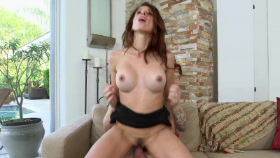 Milf hunter pounded this sexy MILF from every angle until her face was lathered in cum