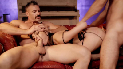 Beautiful young woman Emily Willis turns into submissive slut