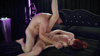 Sultry redhead Maya Kendrick craves a proper pussy pounding