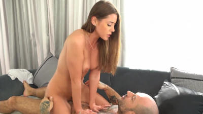 Sybil has intense sex that makes her cum ten times