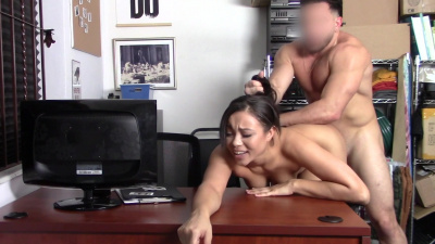 Bodacious shoplifter Adriana Maya makes a deal with the officer
