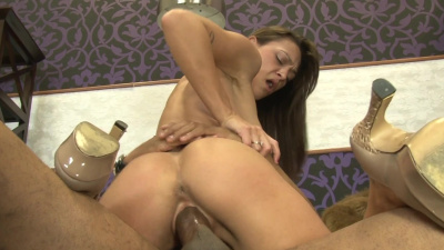Nympho Olivia Wilder can't live without bbc