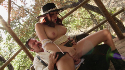 Cowgirl Chanel Preston rides cock better than a horse