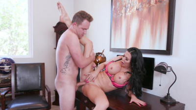 Jasmine Jae tricked into sex by young pool boy