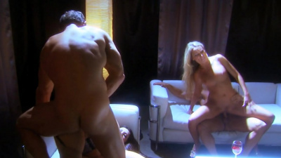 Whores Diana Doll and Roxy Deville railed by rich clients