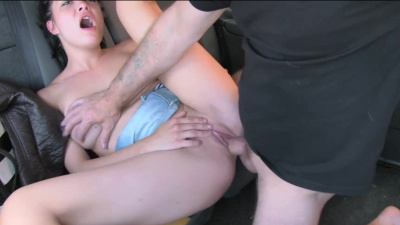 Attractive lady Suhaila Hard quick fuck in the backseat